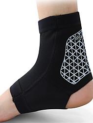 homens nylon preto cinta running tornozelo