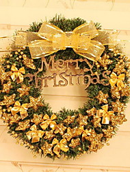 Pentagram Christmas Wreath Christmas Hotel Window Decoration (40cm)