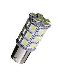 10 x blanc 1156 BA15s conduit 27-SMD ampoules queue rv sauvegarde camping 1,141 1,003