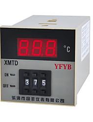 instrumentação de controle de temperatura (temperatura faixa de 0 ~ 399 ° c; ac-220v)