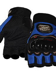 Motorcycle Gloves Half Finger Nontoxic Odorless Water Resistant Breathable Slip Drop Resistance