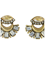 Earring Flower / Geometric Jewelry Women Fashion Party / Daily / Casual Alloy 1 pair Gold KAYSHINE