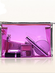 Pvc Transparent Cosmetic Bag Waterproof Finishing Women Wash Large Capacity Storage Travel Bag