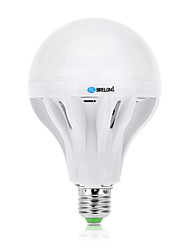 15 E26/E27 Lampadine globo LED A60(A19) 54 SMD 2835 1200 lm Bianco caldo / Luce fredda Decorativo AC 220-240 V 1 pezzo