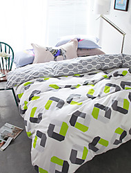 Hot sale brief style 4piece bedding sets print duvet cover Sets 100% Cotton Bedding Set Queen Size