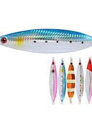 2pcs/lot Afishlure Slow Metal Plate Lead Jig 130g Hard Lead Lure Fishing Lure Deep Sea Fishing