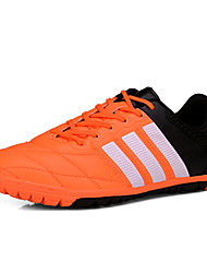 Femme-Sport-Noir Bleu Orange-Talon Plat-Confort-Chaussures d'Athlétisme-Polyuréthane