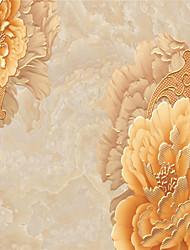 3D Fond d'écran pour la maison Contemporain Revêtement , Toile Matériel adhésif requis Mural , Chambre Wallcovering