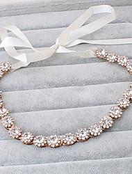 Femme Imitation de perle Casque-Mariage Occasion spéciale Décontracté Extérieur Serre-tête 1 Pièce