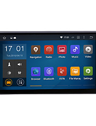 "quad core universel android 4.4.4 1024 * 600 GPS de voiture 2DIN 7inch 1.6GHz radio cpu ram 16gb écran tactile ""capacitive"""