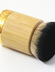 Brush Residual Powder Natural Bamboo Handle Synthetic Fiber