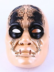 Mask Bronze Death Eater Resin Mask Hand Made Horror Cosplay Halloween Skull Party Mask