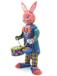 Novelty Toy  Puzzle Toy  Music Toy  Wind-up Toy Novelty Toy  Rabbit  Musical Instruments Metal Pink For Kids