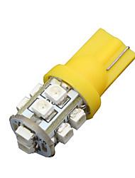 10x желтый янтарь T10 клин 10smd привело включить свет W5W 158 192 2825 168 194 906 912