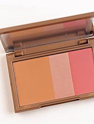Pro Brand Makeup 3Color Shimmer Matter Bronzer Naked Face Contour Mineralize Blush Palette Powder Highlighter Make Up