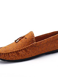 Fashion Trend Men's Soft Suede Driving Shoes for Casual Non-slip Soles Man's Loafers in the Four Seasons
