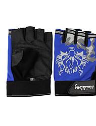 nouveau gants d'équitation masculins conditionnement physique en plein air moto sport gants demi doigt