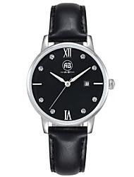 AIBI® Women's Watch Imitation Diamond Calendar Water Resistant/Water Proof Dress Watch Black Designer Wrist Watch With Watch Box