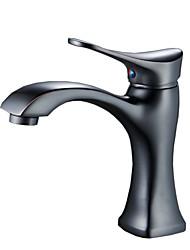 Brushed Nickel Single Handle Faucet Bathroom Basin Sink Vessel Mixer Tap