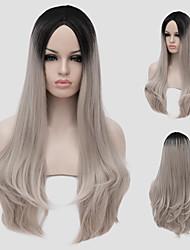 Are partial gradient Harajuku Lolita Lolita COSplay animation wig Synthetic Wigs