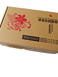 Yellow Color Other Material Packaging & Shipping FJ-1(450*350*100), 120g Cartons A Pack of Three