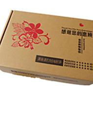 cor amarela outro material de embalagem&transporte fj-1 (450 * 350 * 100), caixas de papelão 120g um pacote de três