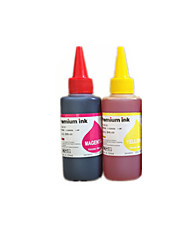 Epson Printer Refill Ink CISS A Pack Is Included Two Color Inks Which Are Red Ink And Yellow Ink Each Ink is 100ML