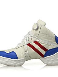 Zapatos de baile(Blanco) -Moderno / Botas de baile-No Personalizables-Tacón Bajo