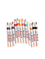 Office Stationery Neutral Pen Repair Paint Pen Multifunctional Marker Pen Diy Graffiti Pen A Box of 12 Colors