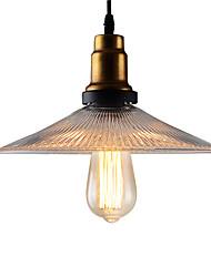 Loft American Country Retro Umbrella Pendant Lights Creative Arts Cafe-room/Restaurant/Bar Pendant Lamp