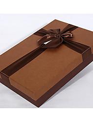 caixa de lenço de embalagem europeu camisa caixa de presente vestido retângulo de negócios
