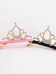 tiaras tijolo cabelo tecido clipe coreano flor da menina