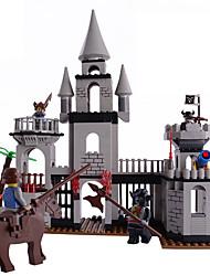 Costruzioni per il regalo Costruzioni Modellino e gioco di costruzione Castello Plastica sopra 6 Grigio Giocattoli