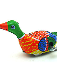 The Duck Wind-up Toy Leisure Hobby  Metal Rainbow For Kids