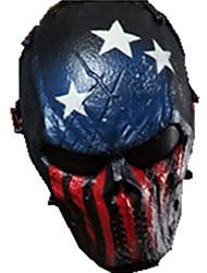 cor azul e vermelho, outros materiais da equipe proteção líder acessórios máscara campo tático