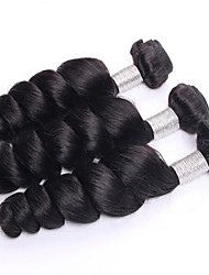 Malaysian Virgin Hair 3Bundles 100% Malaysian Body Wave Human Loose Wave Deep Curly Virgin Hair