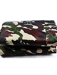 Camouflage Clothing Silver Car Cover Double Coated Reversible Rainproof And Dustproof Anti-Theft Car Garment