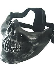 cor preta outros acessórios de proteção material de campo tático máscara bk preto