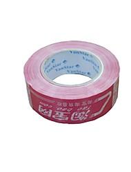bande de papier rose avertissements de bandes d'étanchéité bande (volume 2 a)