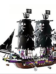 Действие рис Для получения подарка Конструкторы Модели и конструкторы Военные корабли ABS Все черный увядает / Коричневый Игрушки
