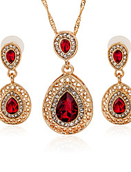 The Latest European And American Fashion Jewelry Sets \ Necklace \ Earrings