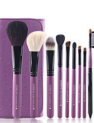10Pcs Wool Brush Makeup Brush Set Full Package Makeup Tools