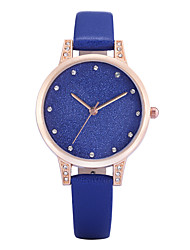 REBIRTH® Women's Simple Fashion Watch Slim PU Leather Strap Quartz Wrist Watch