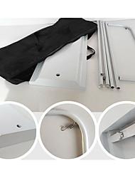 Offre spéciale fer grille d'affichage du type de porte yilabao porte conception personnalisée de l'écran d'affichage extérieur