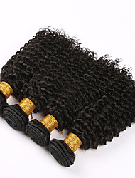 7A Brazilian Kinky Curly Hair 4 Bundles Afro Kinky Curly Hair Cheap Brazilian deep Curly Virgin Human Hair Extensions