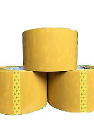 bande passante 4.5cm en plastique beige pas cher 2.5cm d'épaisseur taobao ruban adhésif d'étanchéité du papier en plastique personnalisé