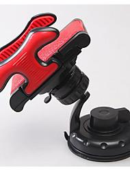 suprimentos automotivos universal mangueira braçadeira titular do telefone do carro de navegação otário rotação dupla 360 graus