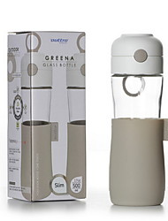 BPA free Galss  Water Bottle 500ml