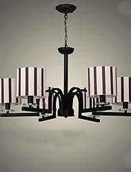 40W Lustre ,  Traditionnel/Classique Peintures Fonctionnalité for Style mini MétalSalle de séjour / Chambre à coucher / Salle à manger /