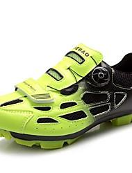 Unisexe-Extérieure / Sport-Jaune / Vert / Argent-Talon Plat-Confort-Chaussures d'Athlétisme-Tulle